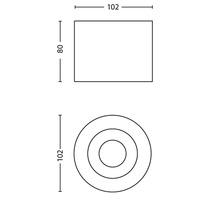 Spot LED Phase 1x4.5W blanc-thumb-6
