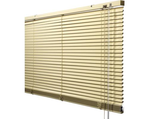 Soluna Store vénétien en aluminium avec fonction Dim-Out, 40x170 cm beige