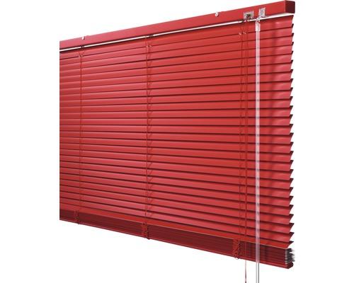 Soluna Store vénétien en aluminium avec fonction Dim-Out, 40x170 cm rouge