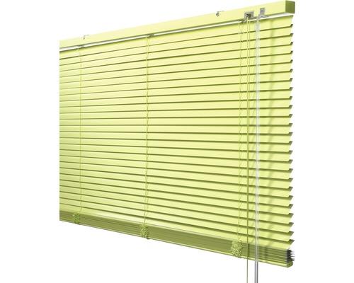 Soluna Store vénétien en aluminium avec fonction Dim-Out, 40x170 cm citron vert