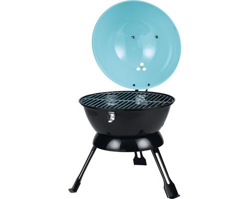 Barbecue au charbon de bois Tepro Salida Ø 35cm turquoise