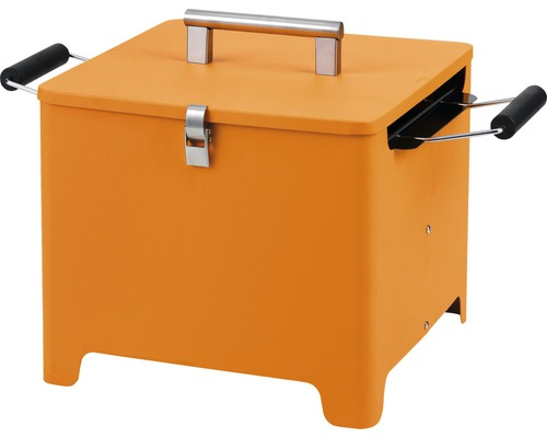 Barbecue au charbon de bois Tepro Cube 32x32cm orange