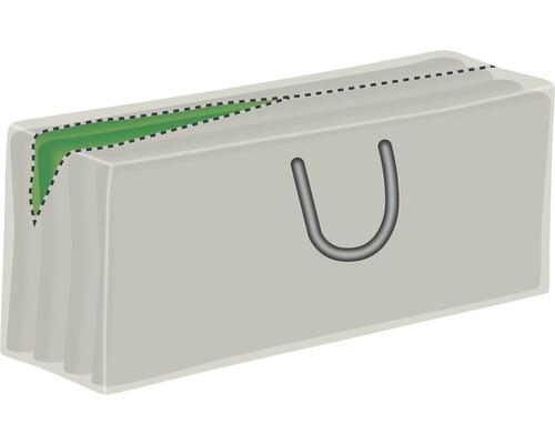 Housse de protection pour galettes d''assise 32x130x50cm