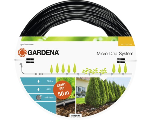 Système Micro-Drip GARDENA Set de démarrage rangées de fleurs L