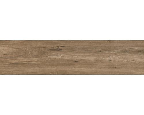 Carrelage pour sol Strobus Oak mat 22x90cm-0