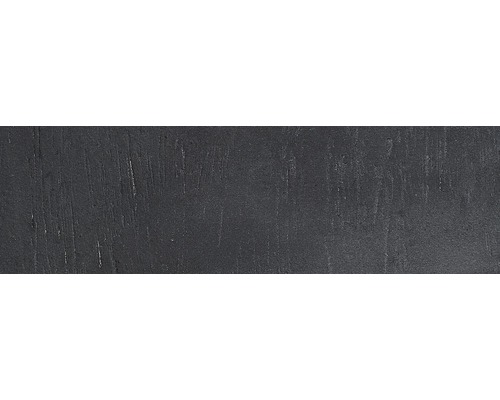 Listel noir platine WS 24x7.1cm