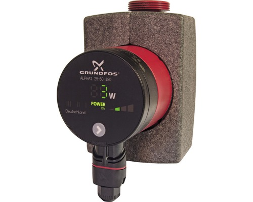 Pompe à chaleur EEK A Grundfos Alpha 1 25-60