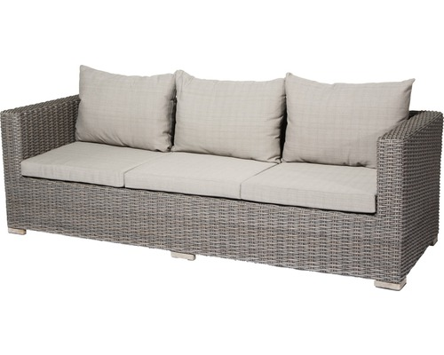 loungesofa siena garden veneto gardino geflecht 3 sitzer sepia hornbach luxemburg. Black Bedroom Furniture Sets. Home Design Ideas
