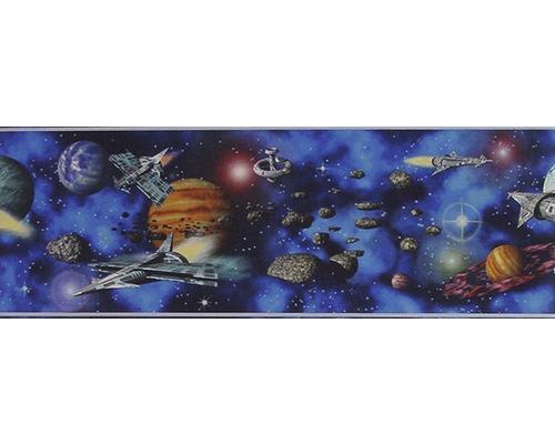 Frise enfant AS-Creation Univers bleu