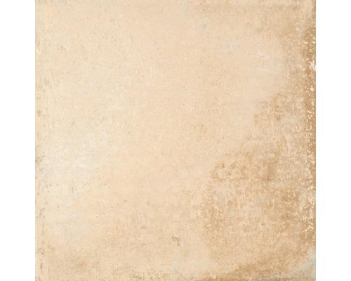 Marche d''escalier angle Rustic crema 33.15x33.15 cm