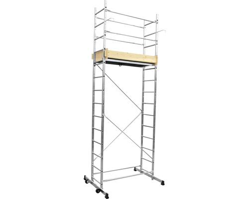 Échafaudage/échelle articulée CLASSIK 5 en 1 aluminium hauteur de travail 5 m
