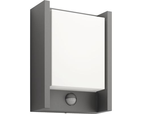 Éclairage mural extérieur LED avec capteur Arbour 1x6 W anthracite