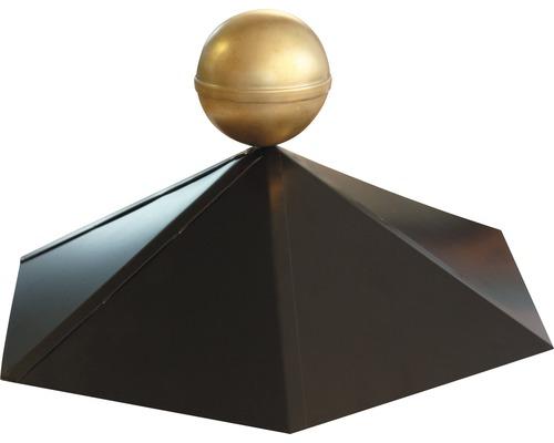 Chapiteau de pavillon Karibu hexagonal 35.5x35.5cm, noir