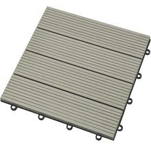 Dalle à clipser Konsta WPC 30x30cm gris-thumb-0