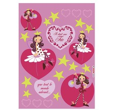 Sticker mural Fairy 50x70 cm-thumb-0
