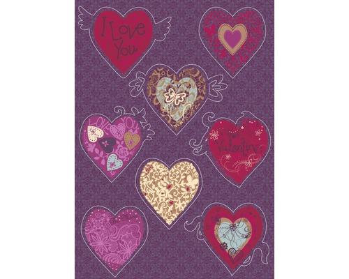 Sticker mural Valentine 50x70 cm-0