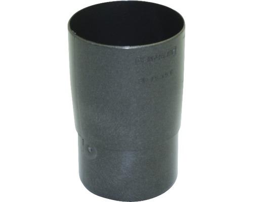 Manchon de tuyau Marley diamètre nominal 75mm anthracite métallique