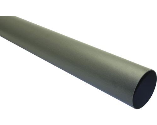Tuyau de descente Marley diamètre nominal 53mm longueur: 2,50m anthracite métallique