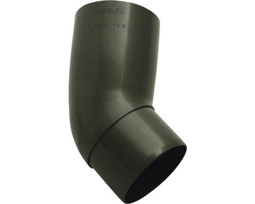 Coude de tuyau 45° diamètre nominal 53 anthracite métallique