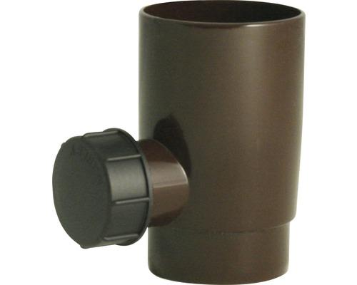 Collecteur d''eau de pluie diamètre nominal 53mm brun