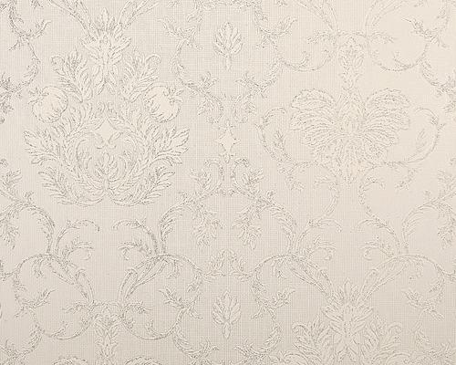 Papier peint vinyle 5380-62 Belle Époque 2 scintillant blanc
