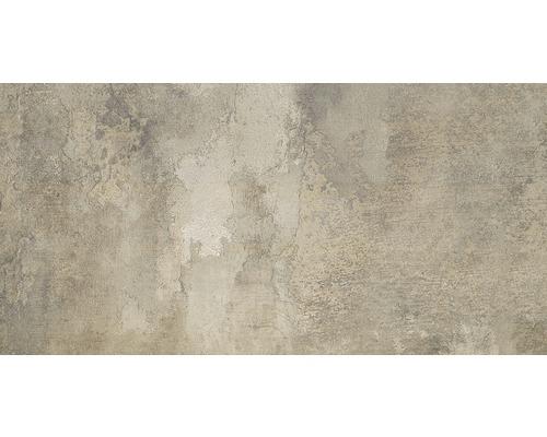 Carrelage de sol en grès-cérame fin Elements Mud mat, 45x90cm-0