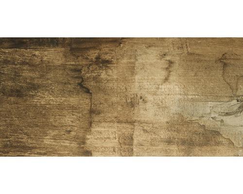 Carrelage de sol en gr s c rame fin edgewood noyer 45x90 for Carrelage hornbach