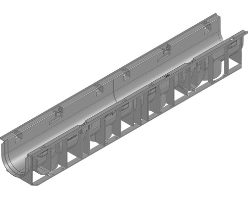 Caniveau RECYFIX STANDARD 100 type 01 longueur: 1,00m