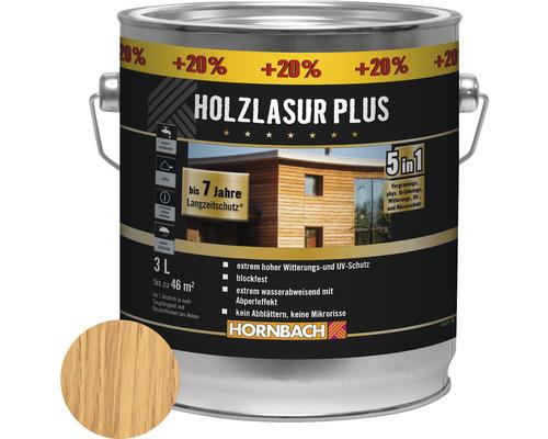Holzlasur Plus kiefer 3 l (20 % Gratis!)