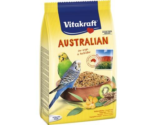Nourriture pour oiseaux, Vitakraft pour perruche Australian, 800g