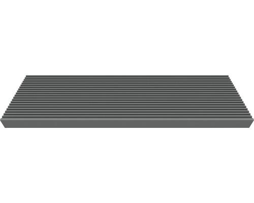 Marche simple pour escalier extérieur Gardentop Trimax, anthracite, 80x22x4 cm