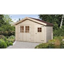 Abri de jardin weka 253 taille2 avec plancher, 370x250cm, nature-thumb-0