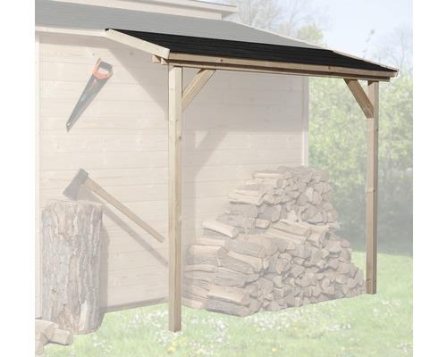 Toit en appentis weka pour abri de jardin Tessin, 95x200cm, nature