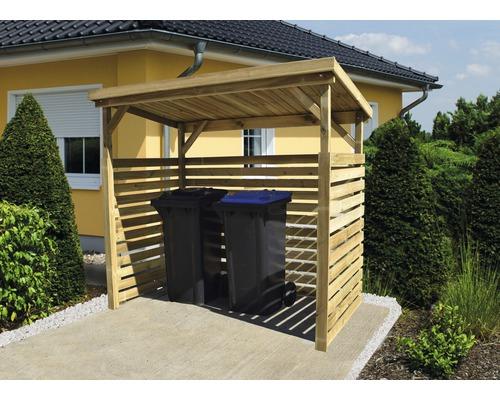abri b ches weka r serve de bois de chauffage 216x114 cm trait en autoclave par impr gnation. Black Bedroom Furniture Sets. Home Design Ideas