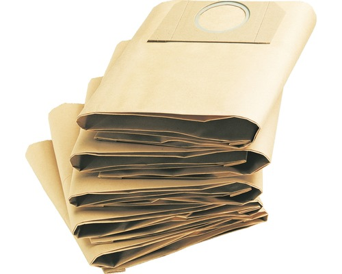 Sachets filtre papiers Kärcher pour A 2201/2204/2504 pack de 5