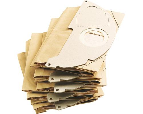 Sacs filtrants papier Kärcher pour A 2004/2014/2024/2054, lot de 5