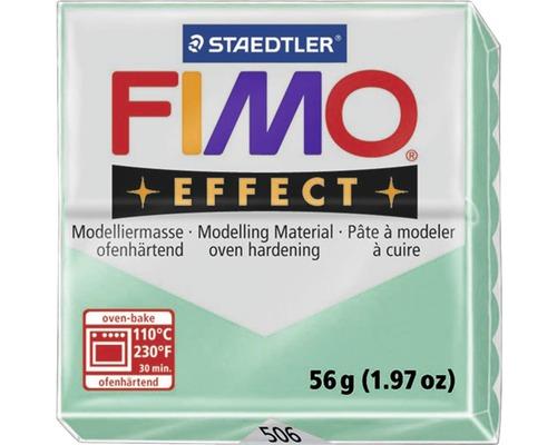 Pâte à modeler FIMO Effect 57 g vert jade transparent