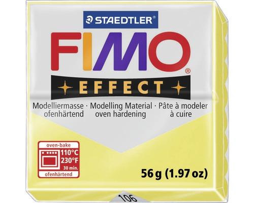 Pâte à modeler FIMO Effect 57 g citron transparent