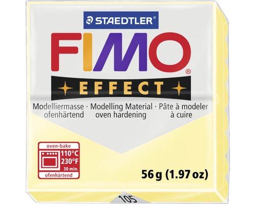 Pâte à modeler FIMO Effect 57 g vanille