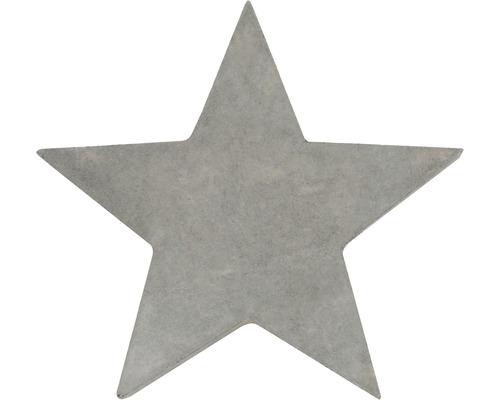 Forme en relief étoile 15 cm
