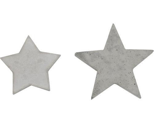 Forme en relief étoile 2 dimensions 9,12 cm