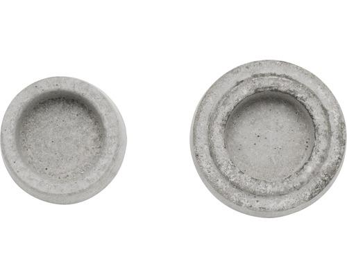Moule relief support pour bougie à chauffe-plat 6x7cm