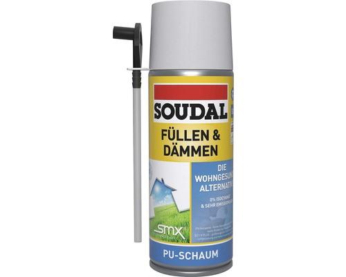 Mousse de remplissage / mousse isolante Soudal SMX B2 300 ml blanc