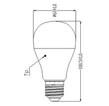 Ampoule LED E27/10(63)W en forme de poire-thumb-2