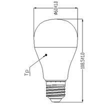 Ampoule LED E27/7(40)W en forme de poire-thumb-2