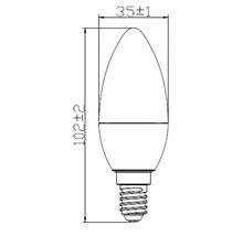 Ampoule LED E14/3.2(25)W forme de bougie-thumb-2