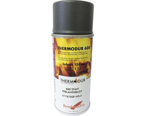 Spray pour poêle Haas & Sohn anthracite perlé 400 ml