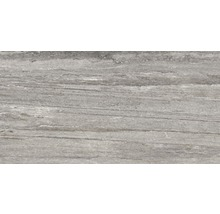Carrelage pour sol en grès cérame fin Portman gris 32x62,5cm-thumb-2