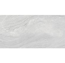 Carrelage pour sol en grès cérame fin Varana gris 32x62,5cm-thumb-0