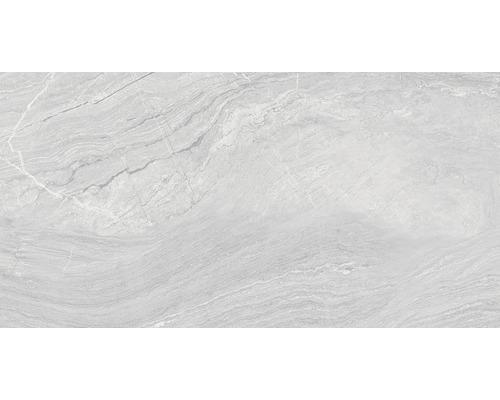 Carrelage pour sol en grès cérame fin Varana gris 32x62,5cm-0